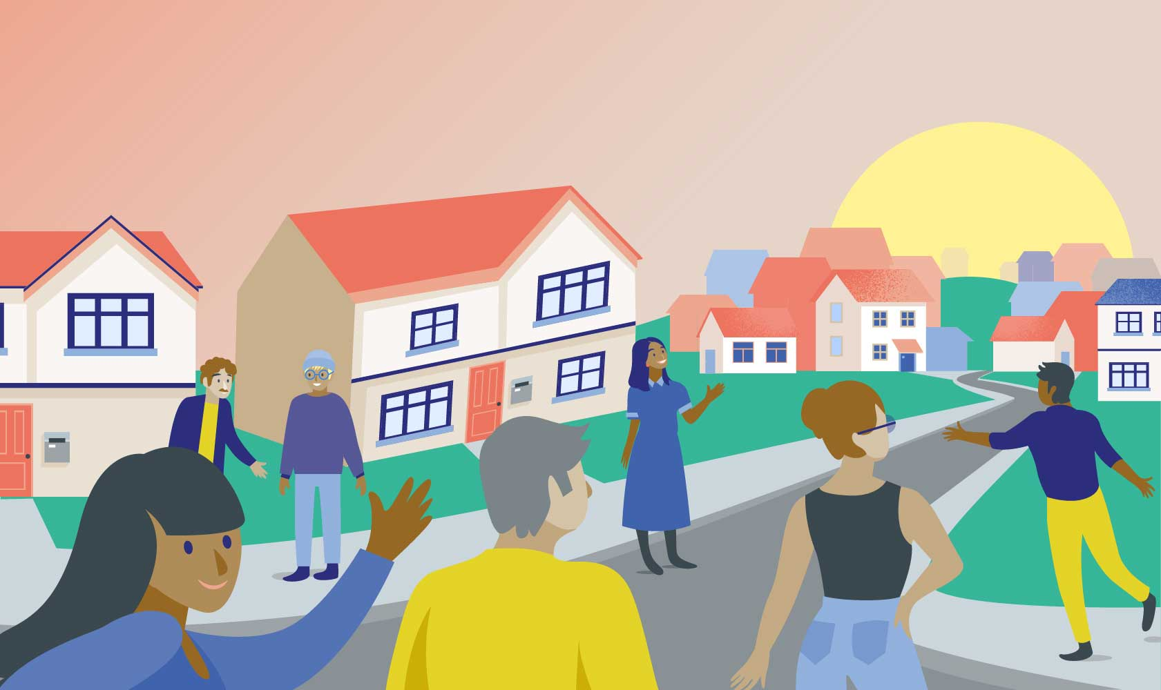 Longleigh Foundation - working within a social housing community
